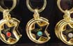Celestial Birthstone Keychain - April