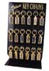 Prestige Thin Intials Keyrings Rack 4x18