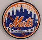 MLB Soft Vinyl Keychain - New York Mets