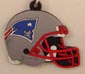 Helmet Keychain New England Patriot