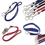 Plain Lanyards and Neck Key Holders