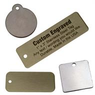Stainless Steel Key Tags