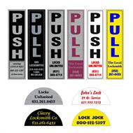 custom printed labels for locksmiths