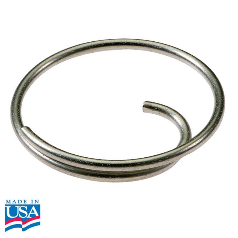 Luckyline easy open tang ring 1 inch diameter box of 50 for Liner diametre 4 50