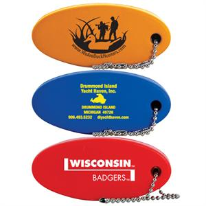 Custom Printed Oval Key Floats