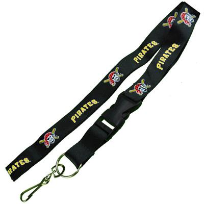 Pittsburgh Pirates MLB Logo Lanyard Keychain