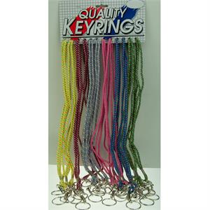 Multi-Color Argyle Pattern Lanyard 24/Card