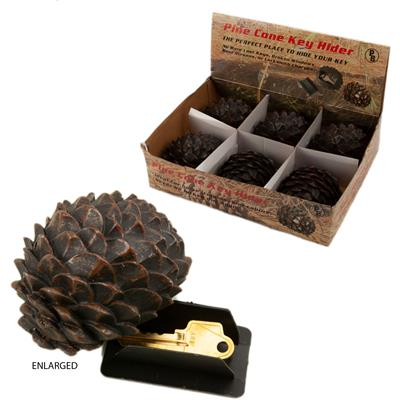 Pine Cone Key Hider 6/Display