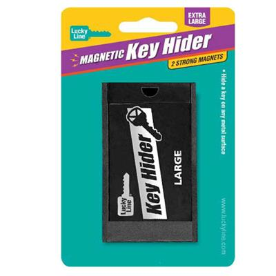 Lucky Line Large Magnetic Key Hider Box 1/Card