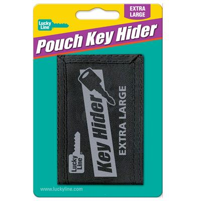 Lucky Line Extra Large Velcro Key Hider 1/Card
