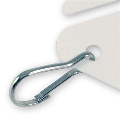 Extra Hooks for Key Cabinet Tags 100 pack