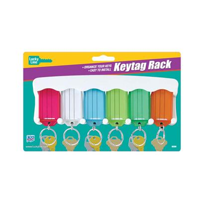 Lucky Line Key Tag Storage Rack - 6 Tags