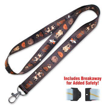 LuckyLine Designer Lanyard - DOGGIES