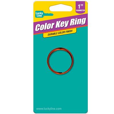 Color Split Key Ring 1 Inch 1 To A Card