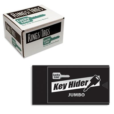 Lucky Line Jumbo Magnetic Key Hider Box Refill Pack 6/Pkg