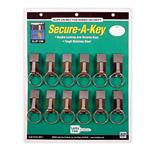 LL Secure A Key Belt Key Holder Slip-on 12/Card