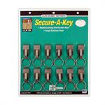 LL Secure A Key Clip-on 12/Card