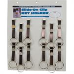 Slip On Belt S-Hook Keychain 12/Card