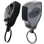 Key Bak Retractable Key Holder Super 48 Clip On Key Retractor with Kevlar Cord