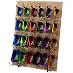 Climbers Clips Carabiners Display Rack
