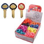 Key Identification Rings Medium Size