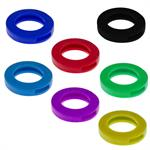 Lucky Line Key Identifier Rings SMALL Refill Pack by Color 50/Pack