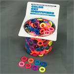 Small ID Ring 400 to a Jar Assorted Colors - Imported