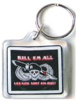 Acrylic Armed Forces Keychain Kill em All