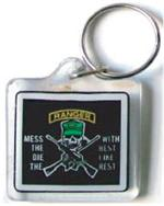 Acrylic Armed Forces Keychain Army-Ranger