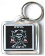 Acrylic Armed Forces Keychain Special Forces