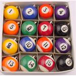 Billiard Ball Key Chain Box of 16