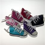 Sneaker Keychain Assorted Colors Plain 12/Card