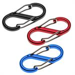 LL UtiliCarry EDC 'S' Clip Carabiner Asttorted Colors