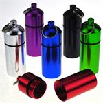 Wide Pill Holder Anodized Aluminum 12/Card