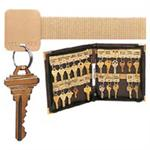Velcro Key Organizer Book 24 Key Tags
