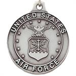 Pewter Air Force Logo Key Chain