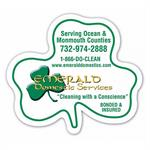Custom Printed FULL COLOR Magnet-Shamrock Shape