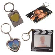 photo holder key chains