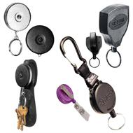 key-bak and key retractors and reels