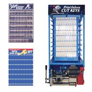 key blank display racks boards and towers
