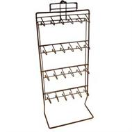 wire keychain and key ring display racks
