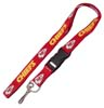 Kansas City Chiefs NFL Lanyard Keychain