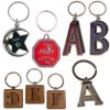Letter and birthstone keychains