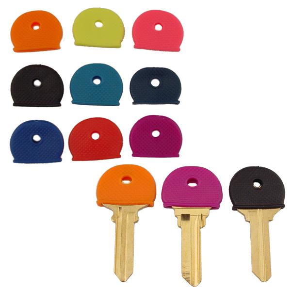 Key Identifier Cap Refills By Color 50pk