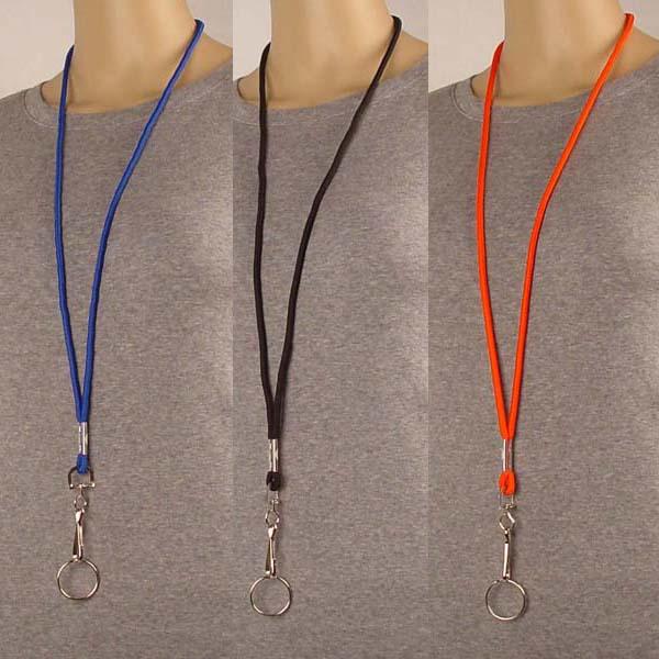Neckstring Lanyard Key Holder Bulk By Color 24 Pack