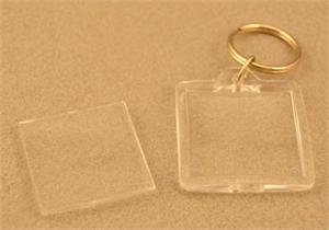 Square Blank Acrylic Key Chain