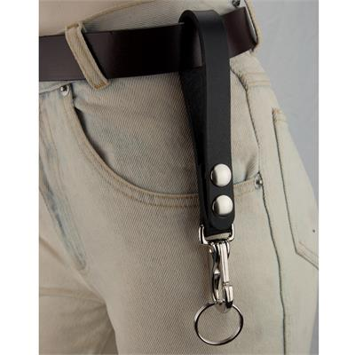 XL Leather Belt Strap with 2 Snaps