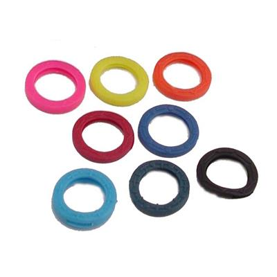 Key Identifier Rings Large Size Refills by Color 50 pack Imported