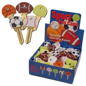 Sports Ball Key Identifier Caps Covers