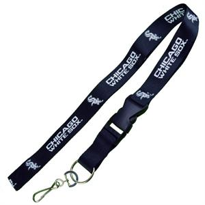 Chicago White Sox MLB Logo Lanyard Keychain